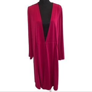 Lane Bryant Long sleeves Cover Up NWT